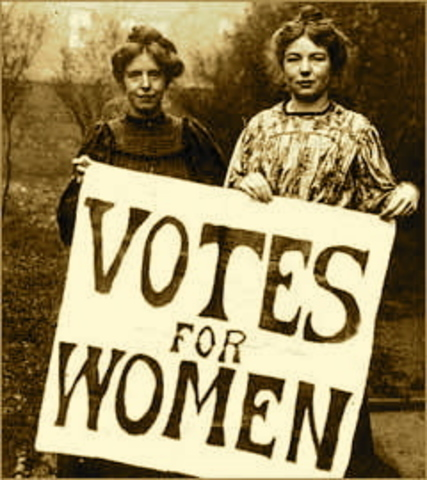 All women 30 and older gain the right to vote in Great Britain