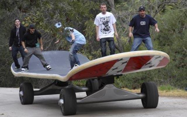 Biggest Skateboard