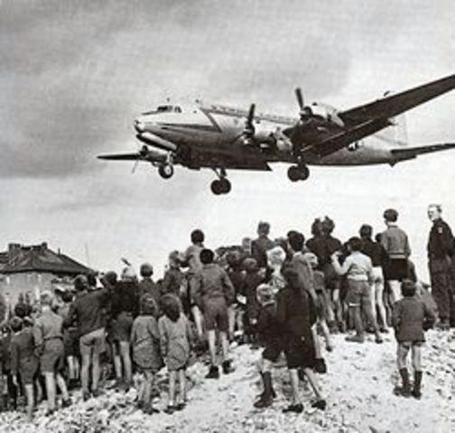 Berlin Airlift Begins