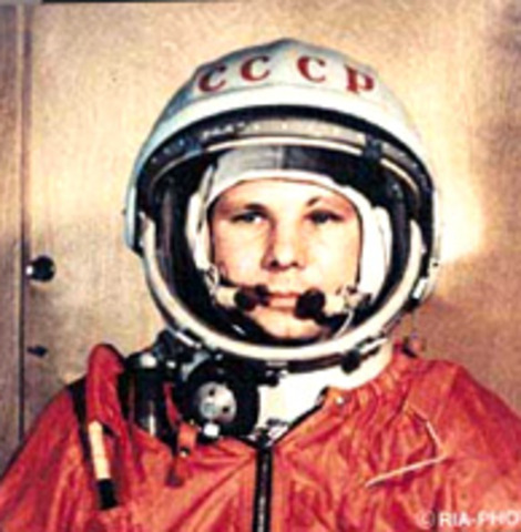 1961 the first man went to space