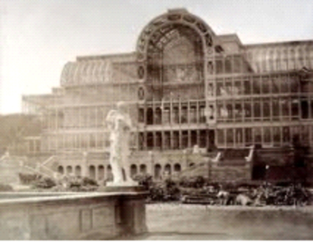 Paxton, Crystal Palace, London, England,  (architecture)