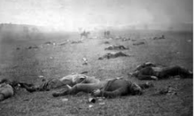 O'Sullivan, A Harvest of Death, Gettysburg, Pennsylvania, July 1863 (photography)