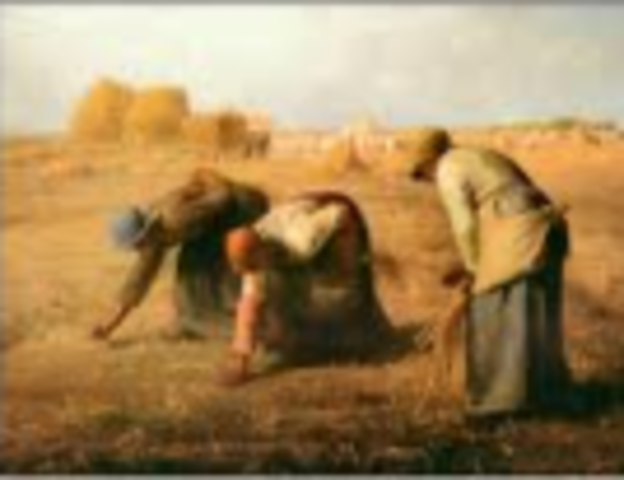 Millet, The Gleaners,  Realism
