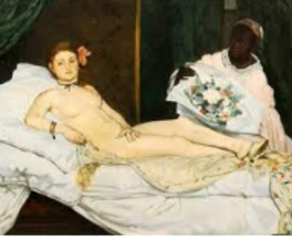 Manet, Olympia, Realism