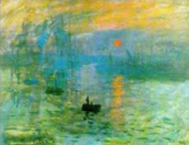 Monet, Impression: Sunrise,  Impressionism
