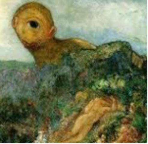 Redon, The Cyclops, (Symbolism)