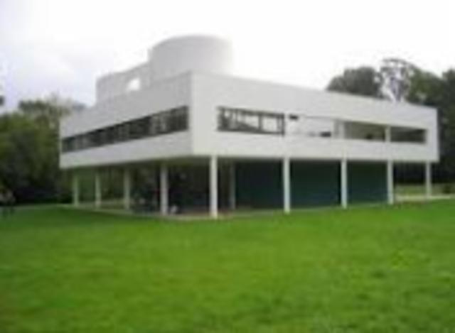 Le Corbusier, Villa Savoye, outside Paris, France,