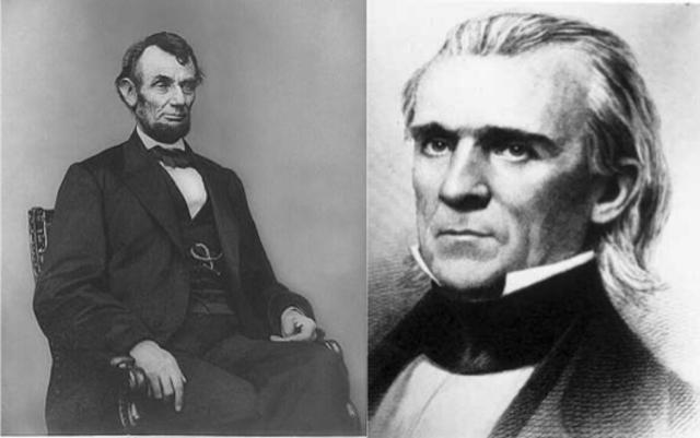 Abraham Lincoln and President Polks Handling