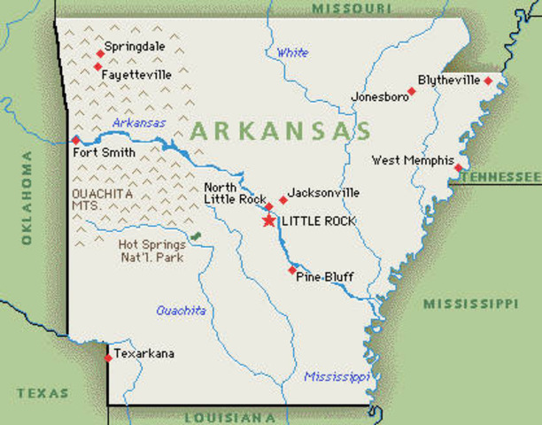 Arkansas Becomes a State
