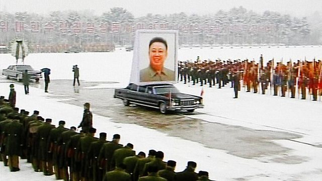 Kim Il Song dies - Kim Jong Il takes over as leader