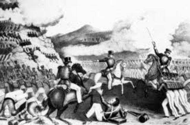 Mexican War of Independance.