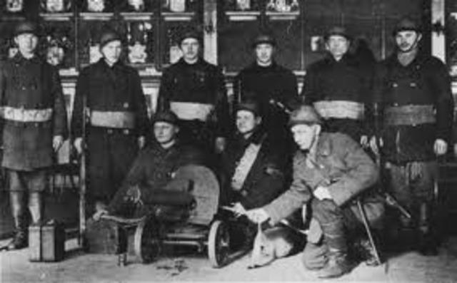 Red Guards Attack Petrograd