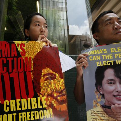 Burma's recent political past timeline