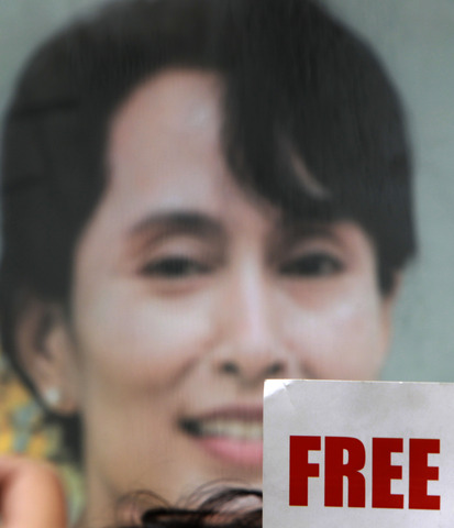 Aung San Suu Kyi freed from house arrest