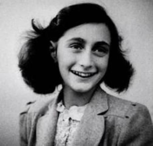 Birth of Anne Frank
