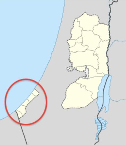 Egypt has Gaza Strip