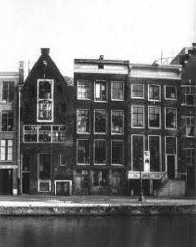 Mr. Frank Visits Amsterdam, Holland