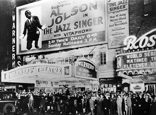 """First Talking Movie-""""The Jazz Singer"""""""