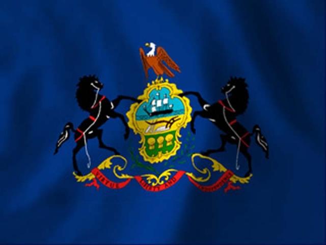 Pennsylvania founded.