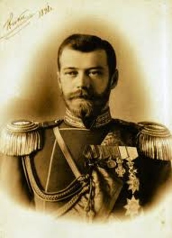 The Abdication of the Tsar