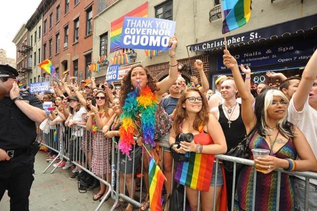 New York Allows Same-Sex Marriage