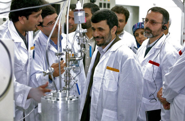 Iran Re-starts Nuclear Programs