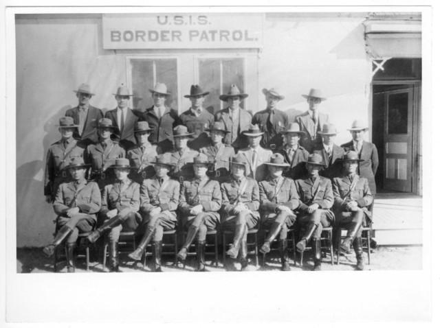 Border Patrol Established