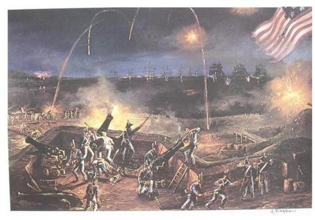 White House Burned, National Anthom, Battle of Horseshoe Bend, Battle of Champlain