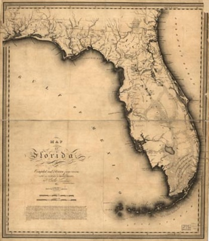 Florida gained, First steamboat to cross Atlantic.
