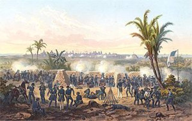 War with Mexico, 49th parralel
