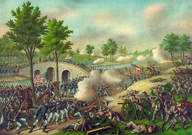 Battle of Antiem, Homestead Act, Land Grant Act