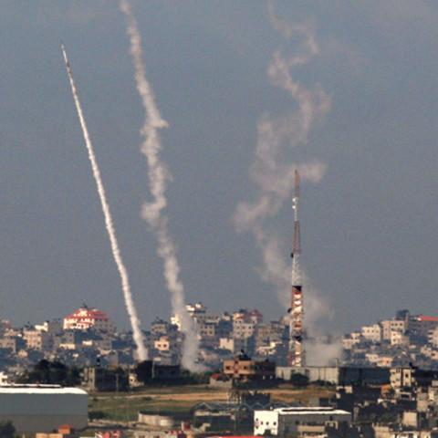Hamas sends rockets into Israel