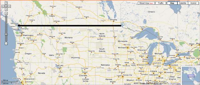 Canadian-American Border Fixed