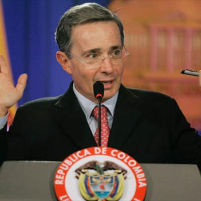 Events During Former Colombian President Alvaro Uribe Velez's Presidency (2002-2010) timeline