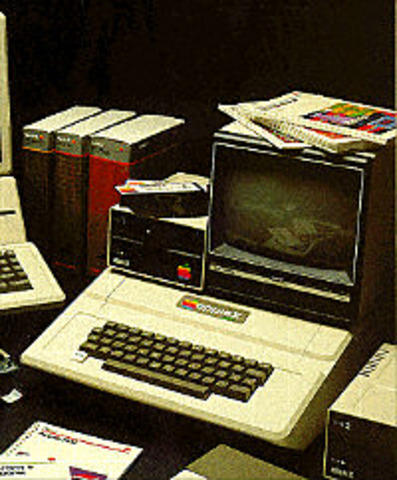 The Apple II became an instant success when released in 1977