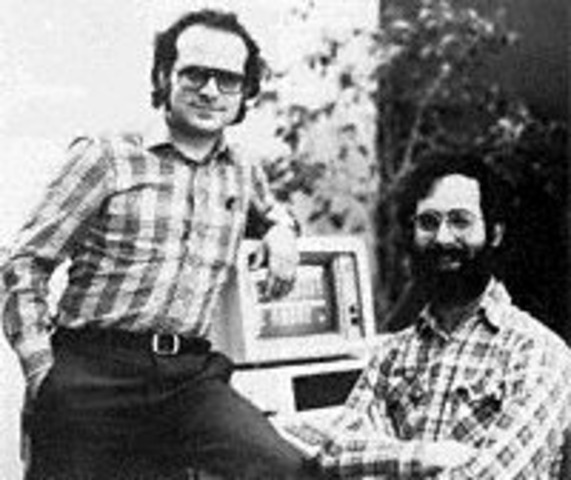 Harvard MBA candidate Daniel Bricklin and programmer Robert Frankston developed VisiCalc,