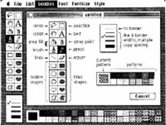 Apple Computer launched the Macintosh, the first successful mouse-driven computer with a graphic user interface,