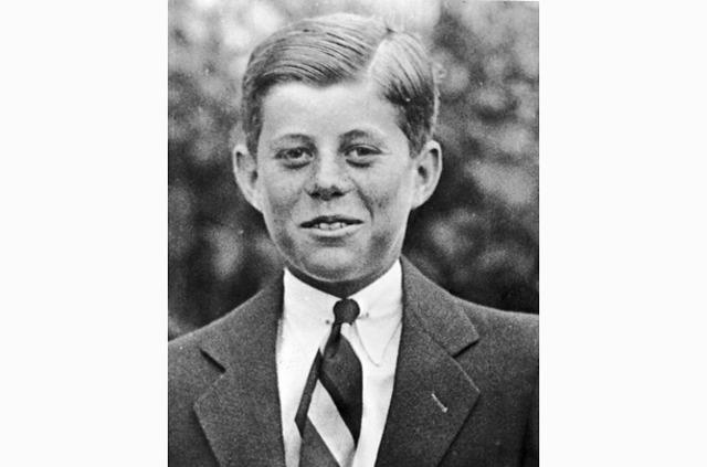 JFK inters the world.