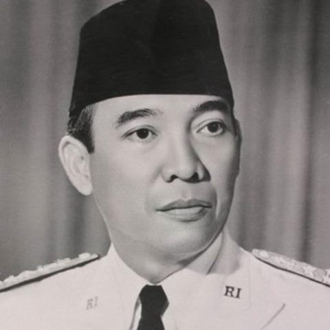 1st president Soekarno