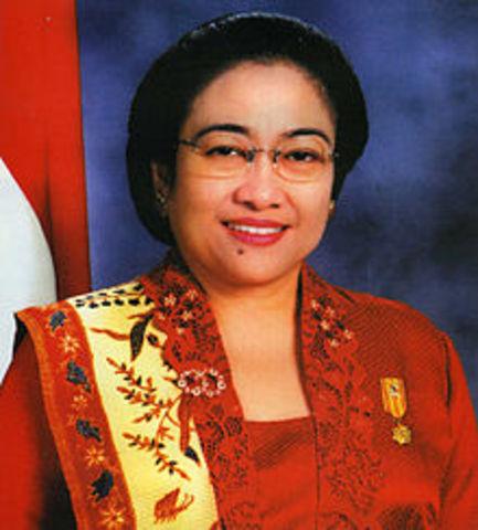 megawati 5th president