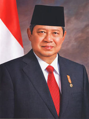 susilo bambang yudhoyono 6th president