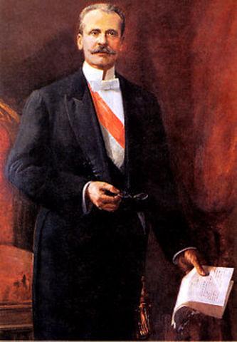 comienza el gobierno de Manuel Cándamo Iriarte