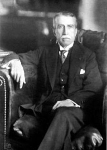 Augusto Bernardino Leguía Salcedo 1908-09-24/1912-09-24