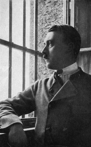 Hitler is imprisoned
