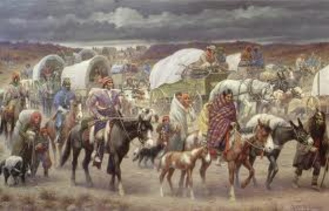 Beginning of the Trail of Tears