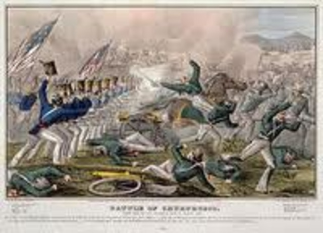 End of Mexican War