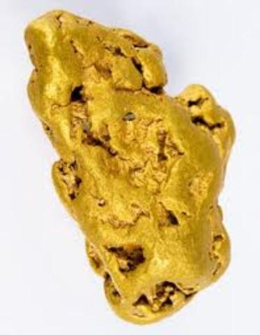 Beginning of the California Gold Rush