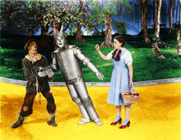 Fashion and Entertainment: The Wizard of Oz on Television