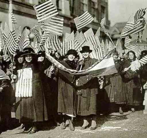 Agitate Woman's Suffrage