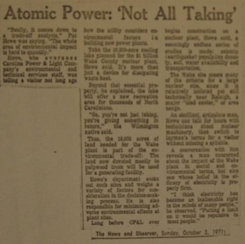 """Atomic Power: Not All Taking"""